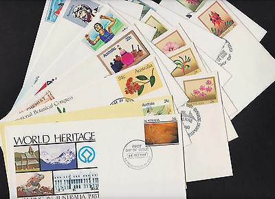 Pre-Stamped Envelope First Day of Issue 1981 full set of 14 envelopes 032-045