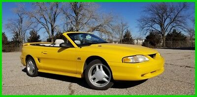 1995 Ford Mustang GT, Muscle Car, 5.0, Low Miles, Convertible, Mustang, Pony Car 1995 Ford Mustang GT Convertible 5.0 V8 ONE OWNER with only 60k miles