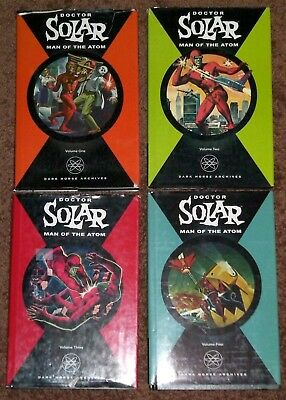 Doctor Solar Man of the Atom Archives 1 2 3 4 Dark Horse Gold Key HC