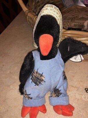 NWT Ty Beanie Baby Attic Treasures Collection Cawley The crow VINTAGE 1993