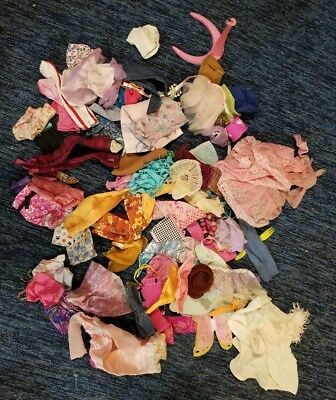 Barbie Doll Clothes LOT 100+ Pieces!  Modern and Vintage clothes