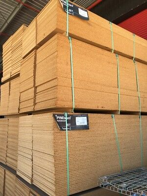 100 Particle Board Pyneboard  2700x600x18mm sheets shelving only $2.90 a sheet!!