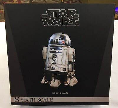 Star Wars Sideshow R2-D2 1/6 Deluxe Figure NEW