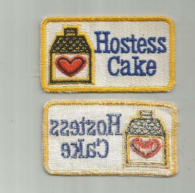 Vintage Hostess Cake Bakery Employees Patch Old Twill 3 1/4 Inches Wide
