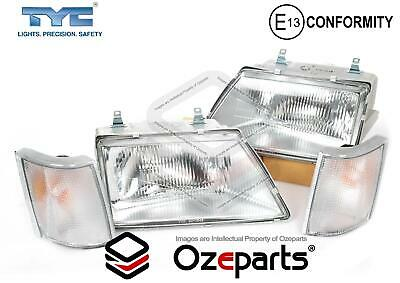 Set Pair LH+RH Head Light Corner Lamp For Holden Commodore VH VK 1981~1986