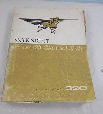 1961 Cessna Skynight 320 Parts Catalog Manual