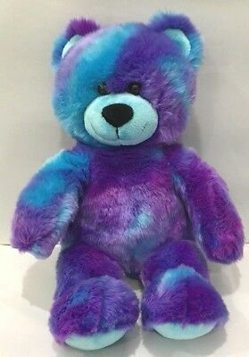 New Rare Purple And Blue Bab Limited Edition Rare Build-A-Bear