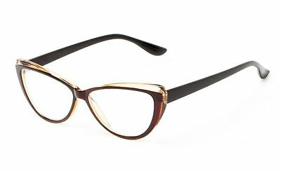 About Eyes G291 Cantor Silver Squared Ready to Wear Reading Glasses Strength +1.50 with Soft Case by About Eyes