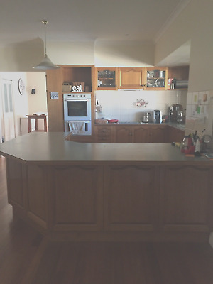 Complete Large Timber Kitchen with Appliances in Whittlesea Vic 3757
