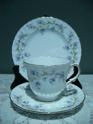 Vintage Duchess 'tranquility' China Trio - Cup Saucer Plate - High Tea - Vgc