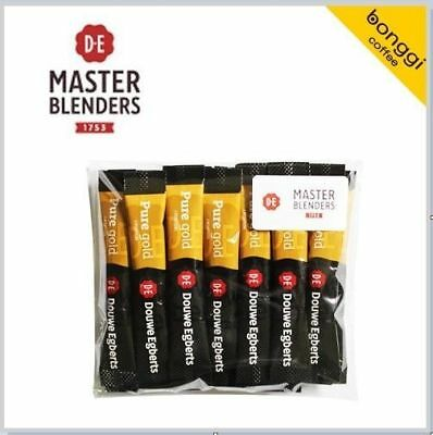 20T DOUWE EGBERTS PURE  GOLD Instant Black COFFEE Sachets 30g (1.5g x 20) _es