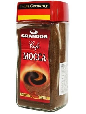 GRANDOS CAFE MOCCA Coffee Germany Instant Mild blend of Arabica Robusta 200g _es