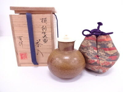3445627: Japanese Tea Ceremony / Tea Caddy By Yusho Sasada Chaire