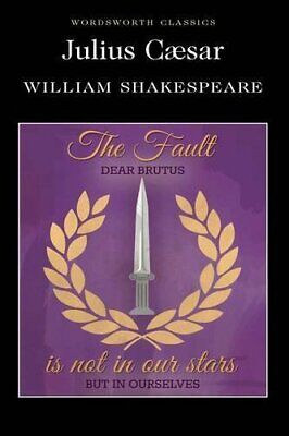 Julius Caesar (Wordsworth Classics) by Shakespeare, William Paperback Book The