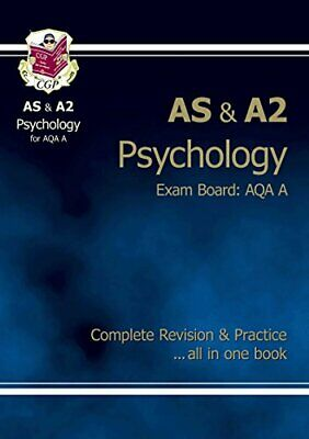 AS/A2 Level Psychology AQA A Complete Revision & Pract... by CGP Books Paperback