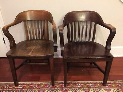 Lot 2 Sikes Office Chairs, banker-lawyer Jury Charleston South Carolina