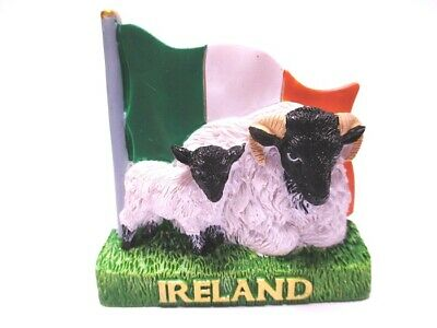 Irland Magnet Flagge Schaafe Poly Souvenir Great Britain,Neu