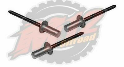 Body Capping Closed Rivets Stainless/Aluminium - Land Rover - RU612373L