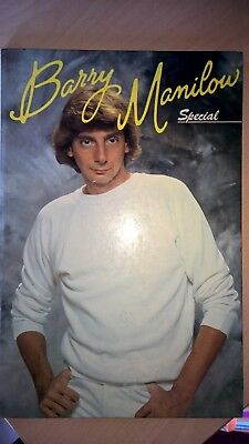 Vintage Hardback Barry Manilow Special 1982 As new condition Collectors Item