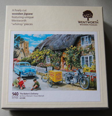 """WENTWORTH Wooden Puzzles """"The Baker`s Delivery"""""""