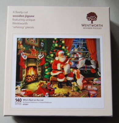 """WENTWORTH Wooden Puzzles """"Who`s Next on the List"""""""