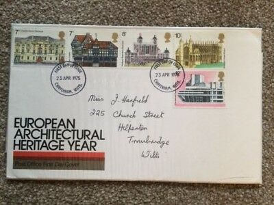 European Architectural Heritage Year FDC 1975
