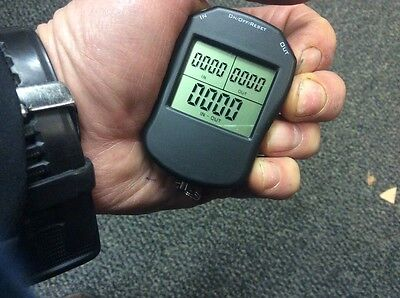 Electronic tally counter great for night clubs and  doorman
