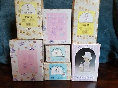Precious Moments  lot of 7 FREE SHIPPING