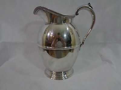 Vintage Viking Silverplate Mayfair Water Pitcher V206 64OZ