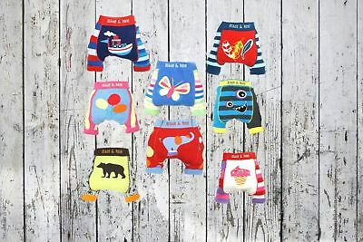 Blade & Rose boys girls summer short leggings shorts 0-6-12 months 1-2 yrs gift