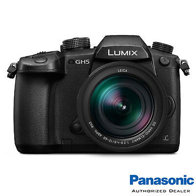Panasonic GH5 Mirrorless M4/3 Digital Camera w/ 12-60mm ***USA AUTHORIZED***