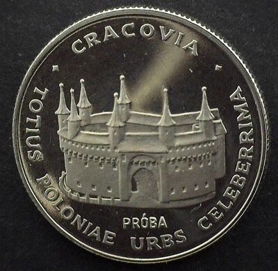 Poland 1981 Silver 100 Zlotych -Krakow Proba Pattern- Exceptional Proof Dcam