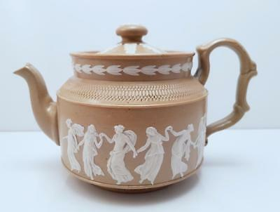 Antique Victorian Copeland Late Spode Embossed Teapot