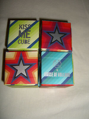 The Body Shop House of Holland Kiss Me Cube, Lip Butter, Lippenbalsam, 4 x 10ml