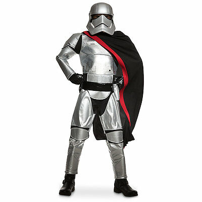 Captain Phasma Costume For Kids (Ages 5-6) - Star Wars: The Force Awakens