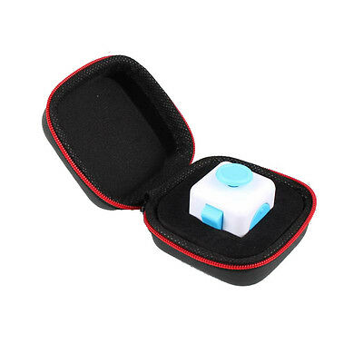 Gift For Fidget Cube Anxiety Stress Relief Focus Dice Bag Box Carry Case Packet
