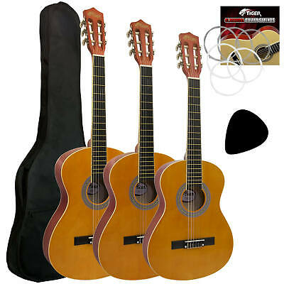 Tiger Classical Spanish Guitar Packages with Accessories