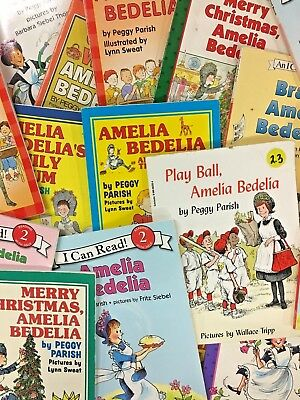 MIXED LOT 6 Amelia Bedelia I Can Learn to Read RANDOM titles books SHIPS FREE
