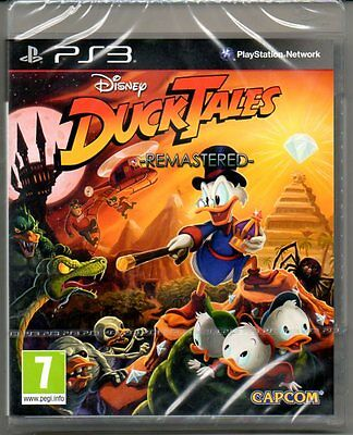 DuckTales REMASTERED  'New & Sealed'  *PS3*