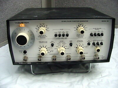 WAVETEK MODEL 191 PULSE/FUNCTION GENERATOR FROM TEST LAB GREAT CONDITION Powers
