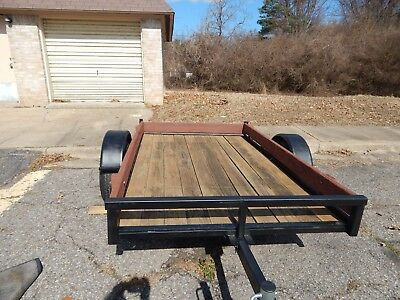 utility trailer refurbished used trailer