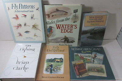 Fishing themed book collection x 23 titles, job lot, fly, trout, freshwater etc