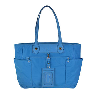 6a5271f2acbb MARC BY MARC Jacobs Preppy Nylon Clara Zip Tote Turkish Tile Blue ...