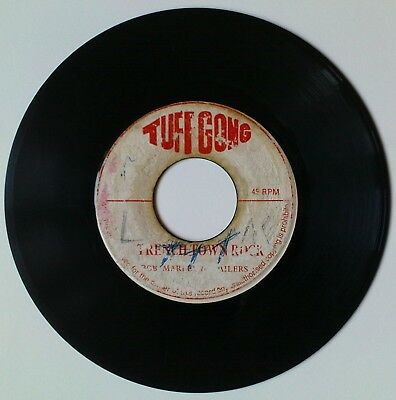 """Bob Marley And The Wailers – Trench Town Rock 7"""" TUFF GONG 1971 Jamaica"""