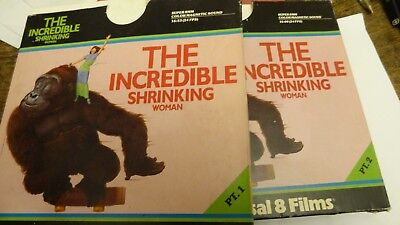 Super 8 Mm Film The Incredible Shrinking Woman   Part 1 And 2  Sound Color