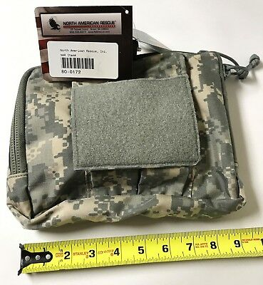 North American Rescue NAR 4 CHEST POUCH (BAG ONLY) ACU #80-0172