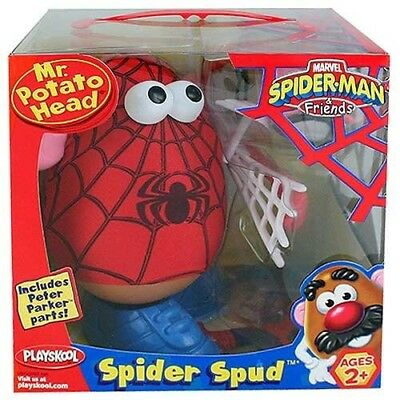 NIB Spider-Man Mr Potato Head Marvel 2+ Years Toy Story Retired Collectible