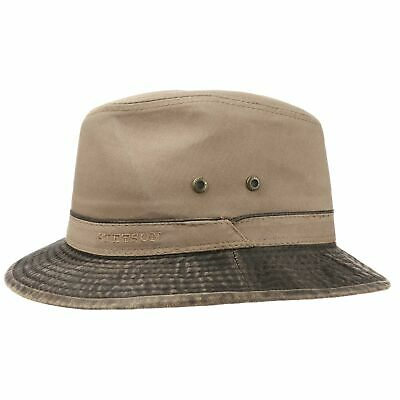 STETSON BERICO EAR Flaps Traveller Hat Hats Men cloth hat - £69.00 ... baf5c5331f84