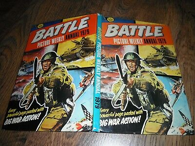 Battle Picture Weekly 1979 Annual Mad Mitchell Johnny Red Red Arrows Gaunt