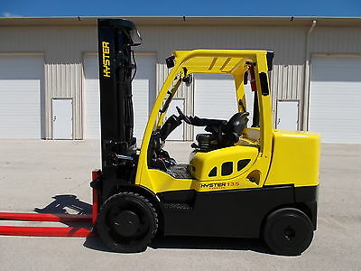 2013 Hyster S135Ft 13500# Forklift Cushion Yale Fork Lift Truck Cat Sideshift